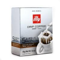 意大利知名品牌 illy滤挂咖啡中度烘焙