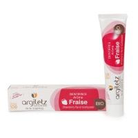 法国进口矿物泥儿童草莓护齿牙膏75ml