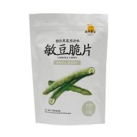 自然果实敏豆脆片50g