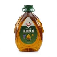 红井源压榨一级亚麻籽油5L