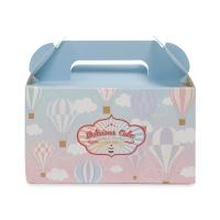 韩国焙乐特花园气球款点心包装盒3个装