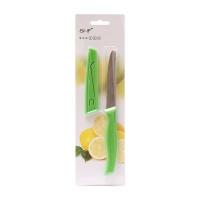 德国SNFEE彩柄系列水果刀有齿型(绿色)