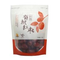 自然果实新疆有机红枣二级250g