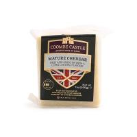 英国酷币城堡成熟切达干酪200g