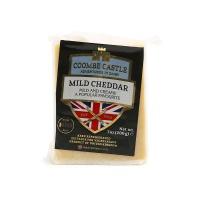 英国酷币城堡淡味切达干酪200g