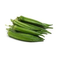 分享收获农庄绿秋葵300g