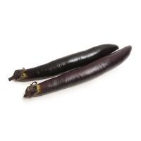 春播农庄有机栽培黑美长茄400g