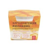 乐纯芒果菠萝元气酸奶135g