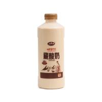 青海湖藏酸奶炭烧风味发酵乳1L