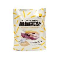 自然果实淡盐味色色薯条80g