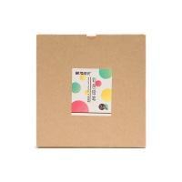 晨光牛皮纸盒原木圆型彩色铅笔24色1盒