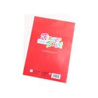 美乐简装手指画专用纸1盒