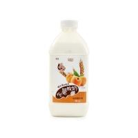 圣牧塞茵苏PET黄桃燕麦酸奶1kg