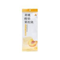 自然果实黄桃酸奶果粒块6g*4
