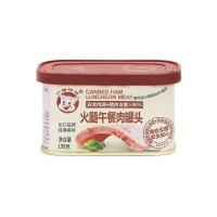 小猪呵呵火腿午餐肉罐头198g