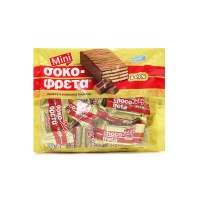 希腊迷你牛奶巧克力威化饼干210g