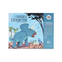 美乐考古玩具-三角龙化石