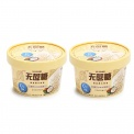 可米酷无蔗糖椰子口味冰淇淋90g*2
