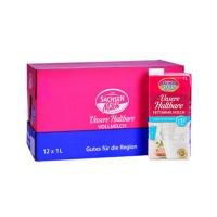 德国萨克森1.5%脂肪含量低脂高温杀菌奶1L装*12