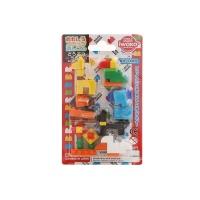 日本iwako动物积木玩具橡皮