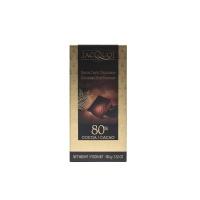 法国嘉珂80%黑巧克力100g