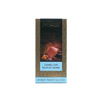 法国嘉珂焦糖海盐牛奶巧克力100g