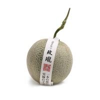 安心直采玫珑网纹瓜1个(2.5-3.5斤)
