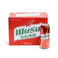 新疆乌苏啤酒(听装)500ml×12