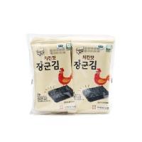 韩国进口乐曦鸡肉味海苔20g