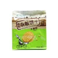 北方绿人木糖醇绿色杂粮饼干390g