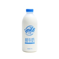艾妙全脂巴氏鲜牛奶1kg