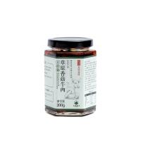 大地厨房草原香菇牛肉豆豉酱200g