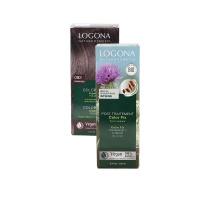 德诺格娜纯植物染发粉咖啡色+调理素