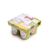 帕斯卡黄桃和西番莲果味低脂酸奶125g×4