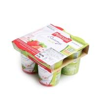 帕斯卡草莓味低脂风味酸奶125g×4