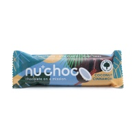 纯植物椰子味巧克力棒40g