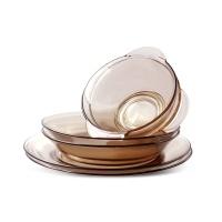 康宁钢化玻璃餐具六件套