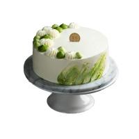 美作抹茶红豆奶油蛋糕8寸