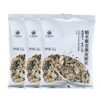 大地厨房糙米藜麦燕麦粥米150g×3