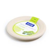 卓艺庭本色纸餐碟10只装 7英寸