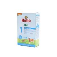 德国泓乐有机牛奶粉1段400g×6盒