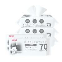 厨房杀菌除油卫生湿巾 70枚*5包装
