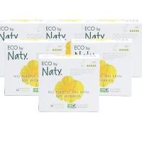 Eco by Naty 夜用卫生巾10片×6