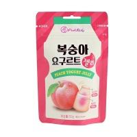 韩国品可粒酸奶味蜜桃夹心软糖50g