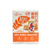 每日生机低糖燕麦苏打饼干215g
