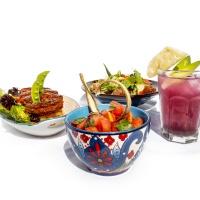 Titikaka秘鲁风味植物肉塔库饭套餐