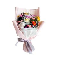 邂逅---粉色款 干花花束