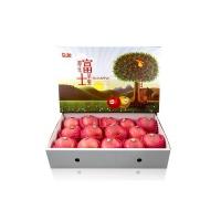安心优选都乐红富士苹果4kg礼盒装