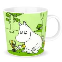 姆明Moomin-绿色姆明马克杯330ml