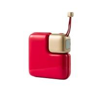 方糖暖手充电宝 中国红